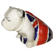 Vintage Royal Doulton Jack the Bulldog Union Jack Figurine