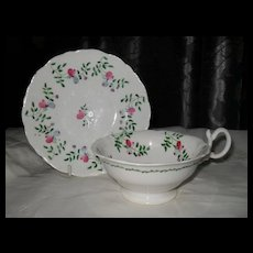 Antique Hilditch Adelaide Shape Teacup and Saucer