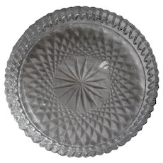 """Waterford Crystal """"Alana"""" Wine/Champagne Bottle Coaster - 5"""""""