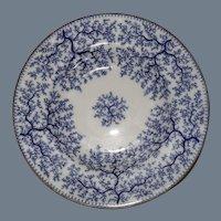 Antique Mintons Blue Seaweed Soup Bowl S2702