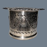 Early Barker Ellis Silver Plate Wine Cooler Coaster 1880