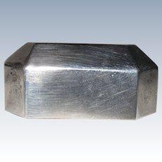 Vintage Birks Sterling Silver Ring Box