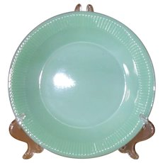 Anchor Hocking Fire King Jadeite Jane Ray Dinner Plate