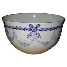 Rare Royal Crown Derby Blue Bows #4680 Tea Bowl