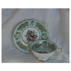 Vintage Paragon Commemorative Canada 1957 Teacup and Saucer