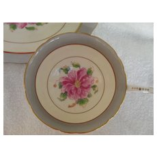 Vintage Coalport Tomorrow Wild Pink Rose Teacup and Saucer
