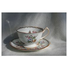 Early Paragon Star Pagoda Teacup and Saucer