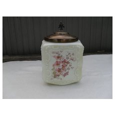 Mount Washington Wave Crest Glass Biscuit Jar
