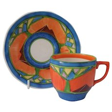 Barker Brothers Arabesque Demitasse Cup and Saucer