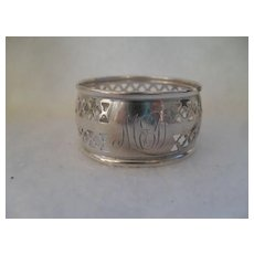 Classic British Sterling Silver Napkin Ring
