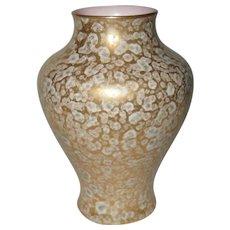 Royal Worcester Miniature Gold Vase 1913