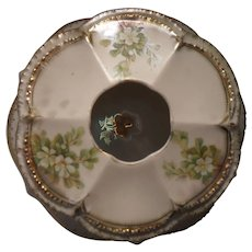 Vintage RS Prussia Dogwood Pattern Hair Receiver