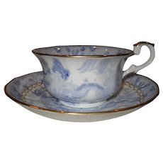 Miles Mason Broseley Willow Teacup and Saucer