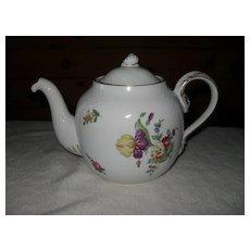 Bing & Grondahl B & G Denmark Saxon Flowers Teapot
