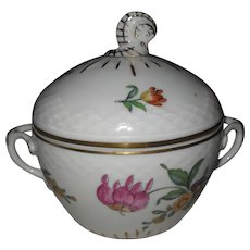 Bing & Grondahl B & G Denmark Saxon Flowers Sugar Bowl