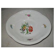 Bing & Grondahl B & G Denmark Saxon Flowers Vegetable Dish
