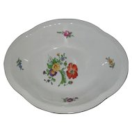 Bing & Grondahl B & G Denmark Saxon Flowers Vegetable Dish