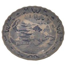 Antique Miles Mason Broseley Willow Bowl 1807
