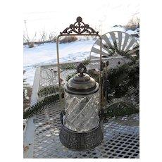 Antique Victorian Toronto Silverplate Co Pickle Castor