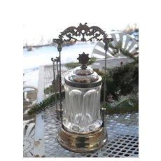 Antique Victorian Silverplate Pickle Castor