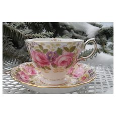 Royal Albert Serena Malvern Shape Teacup and Saucer