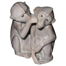 Bing & Grondahl B & G Denmark Grooming Monkeys 1524