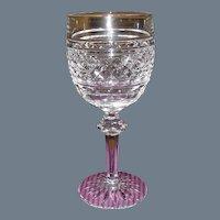 Waterford Castletown Crystal Wine Hock