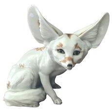 Rare Royal Vienna Augarten Desert Fox Figurine