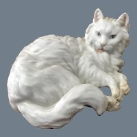 Rare Royal Vienna Augarten Persian Cat Figurine
