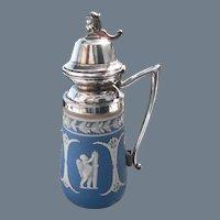 Antique Dudson Jasperware Syrup Pitcher