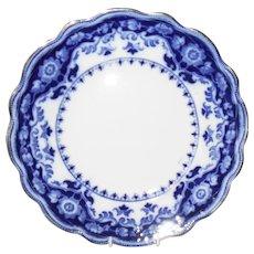 Early Myott Crumlin Flow Blue Dinner Plate