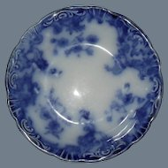 Early WH Grindley Flow Blue MARIE Fruit Bowl