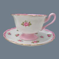 Shelley Rose Gainsborough Teacup and Saucer 13520