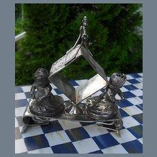 Antique Aesthetic Movement Middletown Napkin Ring Salt
