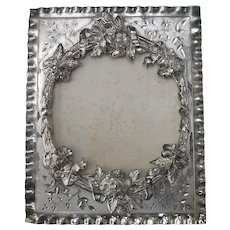 Signed Antique Pairpoint Silver-plated Picture Frame