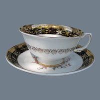 Royal Grafton England Bouquet of Flowers Teacup and Saucer