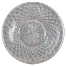 Waterford Alana Crystal Cocktail Plate