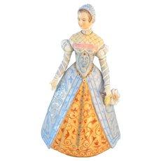 Sitzendorf Germany Catherine de Medici Figurine