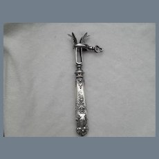 Antique French Sterling Manche a Gigot d' Agneau