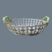 Herend Queen Victoria Lattice Bowl