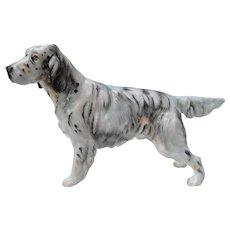 Royal Doulton English Setter Dog Figurine HN 1050