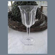 Baccarat France Malmaison Crystal Water Glass