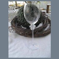 Rosenthal Versace Medusa Lumiere Crystal Goblet