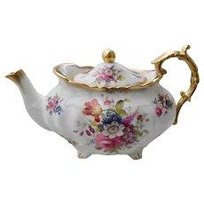 Gorgeous Hammersley Lady Patricia Chintz Teapot Signed F.Howard
