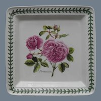 Portmeirion Botanic Roses Square Dinner Plate