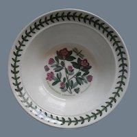 Portmeirion Botanic Garden Rimmed Oatmeal Cereal Bowl Rhododendron