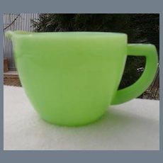 Jeannette Jadeite Jadite Green Measuring Cup