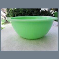 Vintage McKee Jadeite Mixing Bowl Flat Rimmed