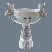 Bjorn Wiinblad Studio Art Centerpiece Candleholder