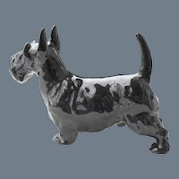 Royal Doulton Scottie Dog HN 1016 Figurine